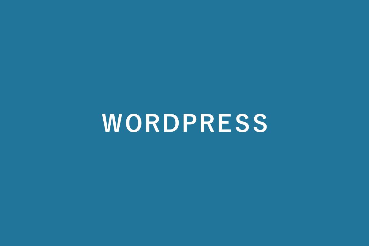 WordPressでのホームページやブログの制作について